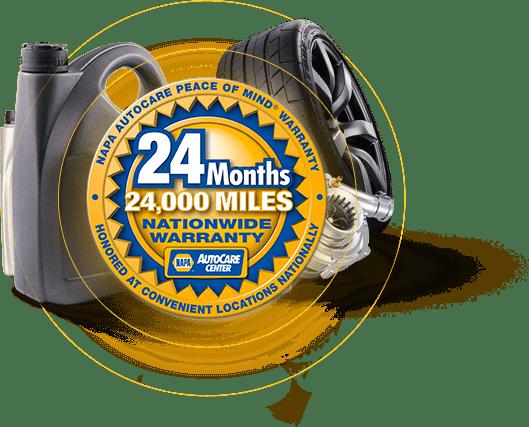 NAPA 24 months/24,000 miles
